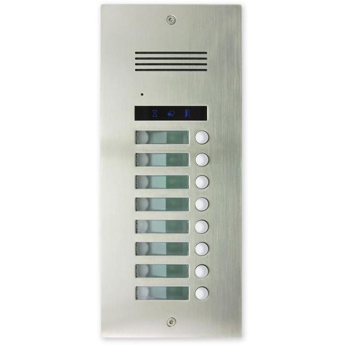 AV8-ZAP zápustná venkovní audio jednotka s 8 tl.