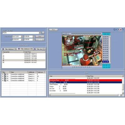 CMS Trident, software společnosti AVTECH pro 64 kanálů