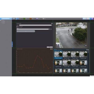 NVR301-08L-P8, NVR pro 8 IP kamer (60/64 Mbps), až 8 Mpx, 1x SATA, 8x PoE, HDMI (4K), Uniview