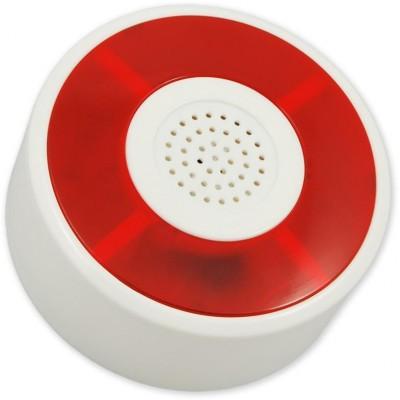 BELL-TEC-356 piezosiréna 105dB, červený blikač