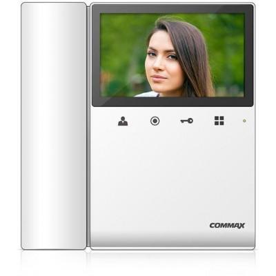 """CDV-43K2 bílý - verze 230Vac videotelefon 4,3"""", CVBS, se sluch., 2 vst."""