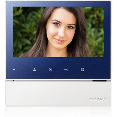 """CDV-70H modrý - verze 230Vac videotelefon 7"""", CVBS, handsfree, 1 vst."""