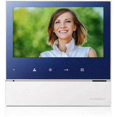 """CDV-70H2 modrý - verze 230Vac videotelefon 7"""", CVBS, handsfree, 2 vst."""