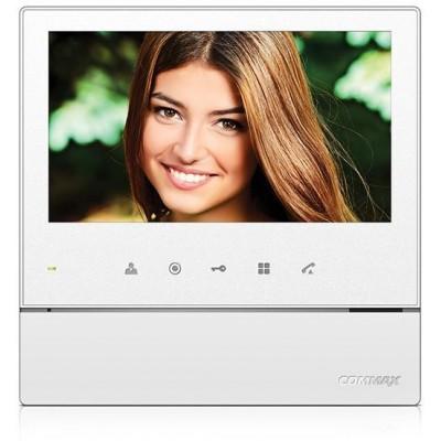 """CDV-70HD bílý - verze 17-30Vdc videotelefon 7"""", CVBS, handsfree, 1 vst."""
