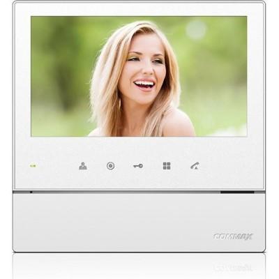 """CDV-70HD2 bílý - verze 17-30Vdc videotelefon 7"""", CVBS, handsfree, 2 vst."""