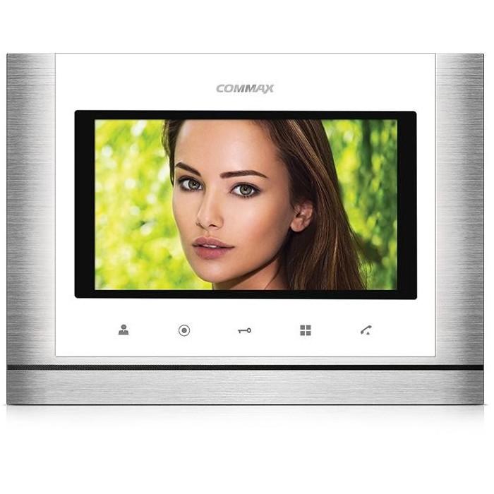 """CDV-70M bílý - verze 230Vac videotelefon 7"""", CVBS, handsfree, 2 vst."""