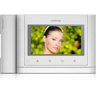 """CDV-70MHD bílý - verze 17-30Vdc videotelefon 7"""", CVBS, se sluch., 2 vst."""