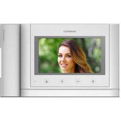 """CDV-70MHM bílý - verze 230Vac videotelefon 7"""", CVBS, se sluch., videopaměť, 2 vst."""