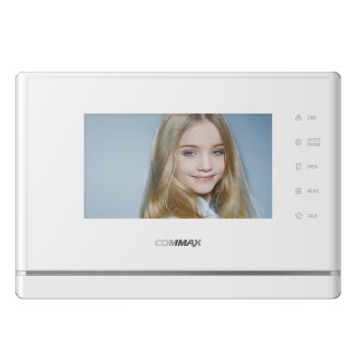 """CDV-70Y bílý - verze 230Vac videotelefon 7"""", CVBS, handsfree, 2 vst."""