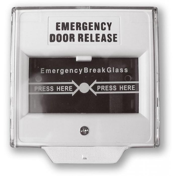 CP-02 - bílá tísňový hlásič se sklíčkem pro rozbití
