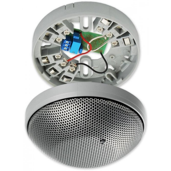 CT 3001O-EZS (komplet) - stříbrná optickokouřové čidlo serie 3000-design