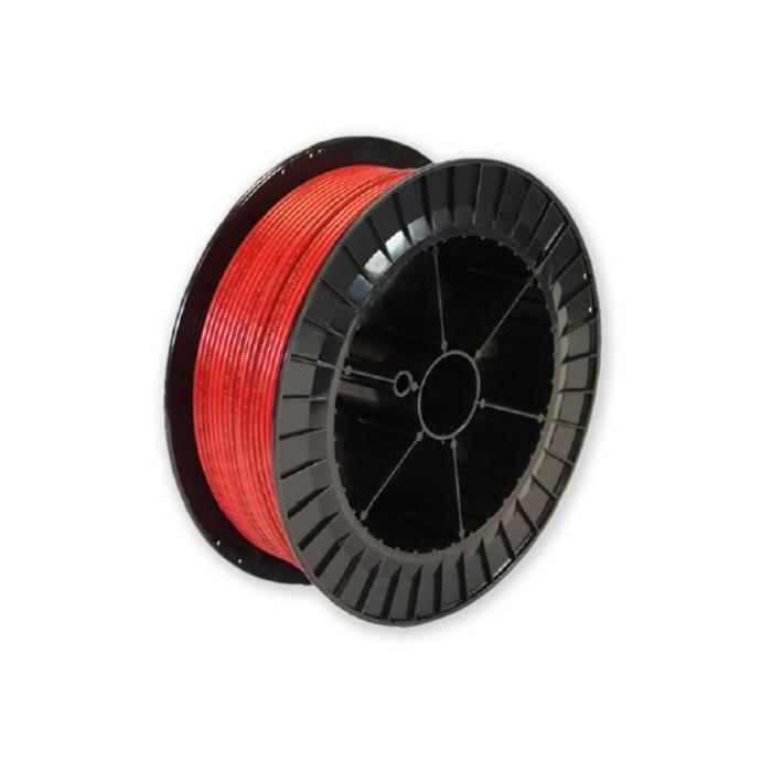 Červený senzor kabel lineární teplotní detekce