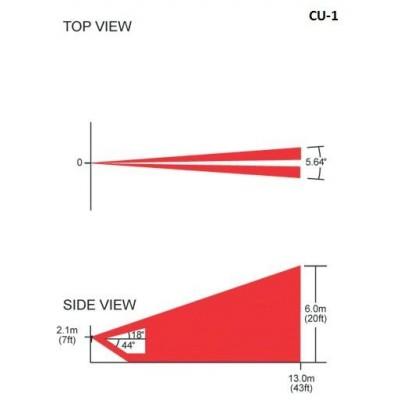 Čočka pro detektory - CU-1 vyměnitelná čočka