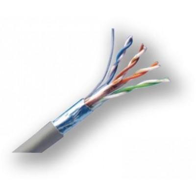 DC-404 C5E FTP datový kabel, lanko, C5E stíněný, 305 m