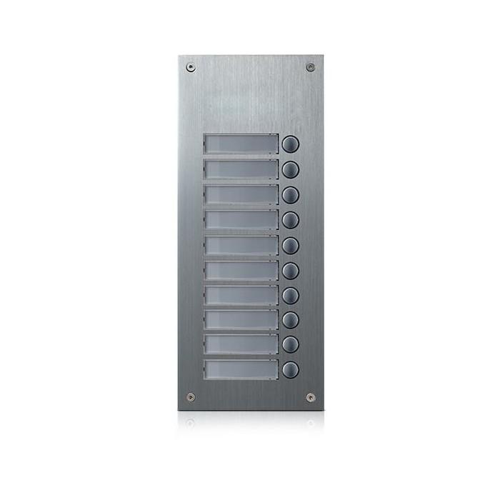 DR-10US rozšiřující tlač. panel, 10 tlačítek, 4+n
