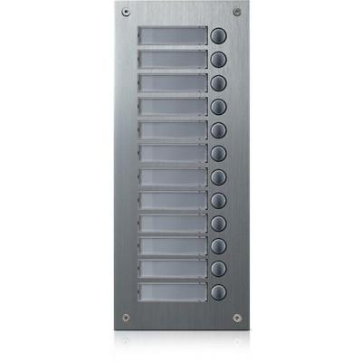 DR-12US rozšiřující tlač. panel, 12 tlačítek, 4+n