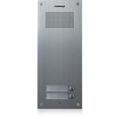 DR-2UM dveřní stanice, audio + 2 tlačítka, 4+n