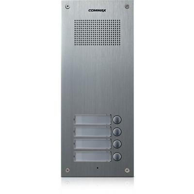 DR-4UM dveřní stanice, audio + 4 tlačítka, 4+n