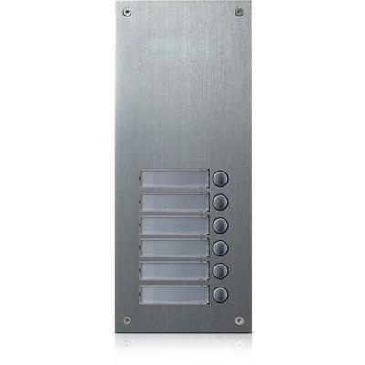 DR-6US rozšiřující tlač. panel, 6 tlačítek, 4+n