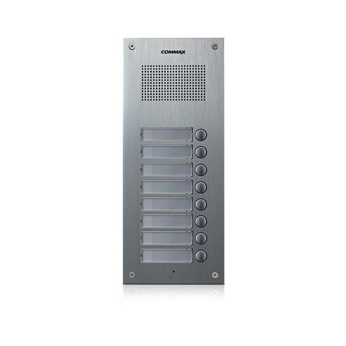 DR-8UM dveřní stanice, audio + 8 tlačítek, 4+n
