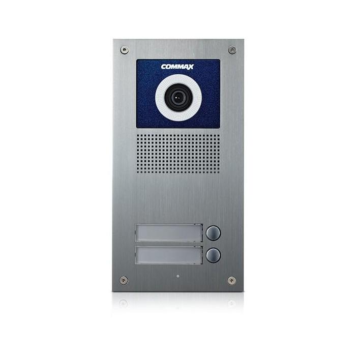 DRC-2UC dveřní stanice s kamerou, 2 tlač., CVBS