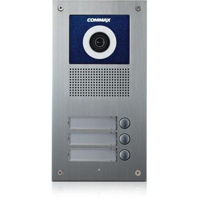 DRC-3UC dveřní stanice s kamerou, 3 tlač., CVBS