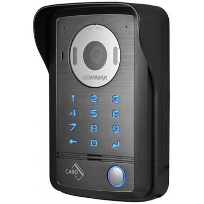 DRC-40DK dveř. stan., 1 tl., CVBS, kód, RFID, povrch.