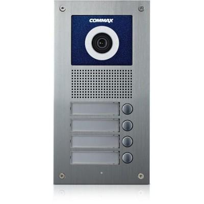 DRC-4UC dveřní stanice s kamerou, 4 tlač., CVBS