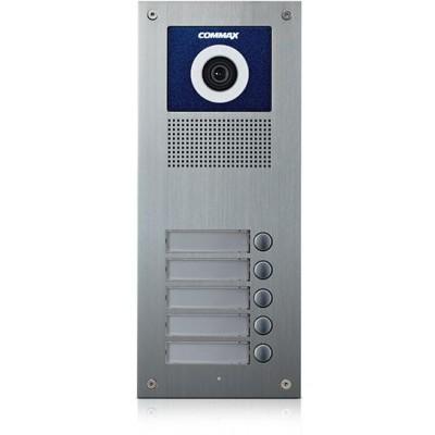 DRC-5UC dveřní stanice s kamerou, 5 tlač., CVBS