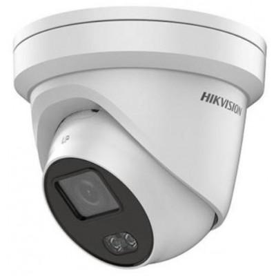 DS-2CD2347G2-L - (2.8mm) 4 Mpx IP dome kamera s LED přísvitem, ColorVu, f2.8mm, WDR, H.265