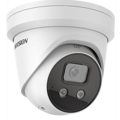 DS-2CE56C0T-VFIR3F - 1MPix venkovní DOME kamera 4V1-TVI/CVI/AHD/CVBS, ICR + IR + objektiv 2,8-12mm