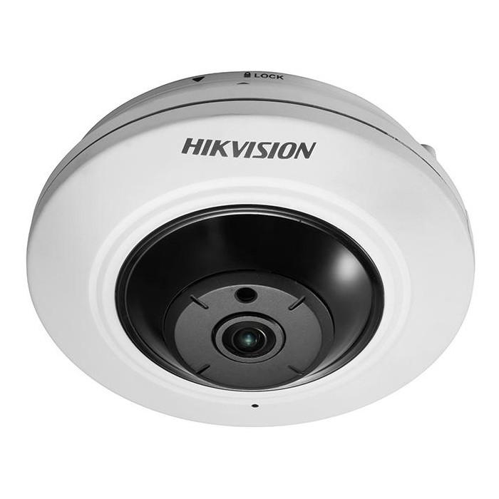 DS-2CD2935FWD-IS(1.16mm) 3MPix, IP Fisheye kamera, 1,16mm, WDR, IR 8m,H265+