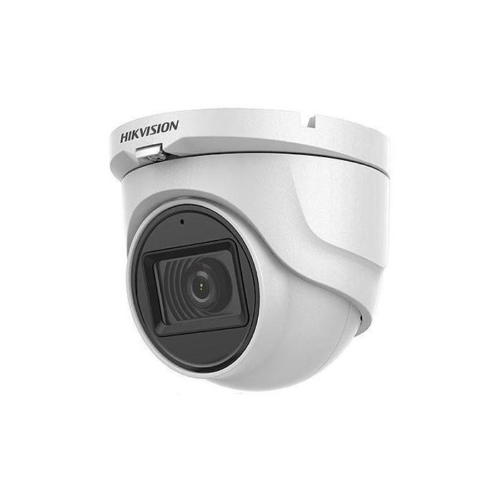 DS-2CE76D0T-ITMFS - (2.8mm) 2Mpix, 4v1 dome ball kamera, 2,8mm, DWDR, EXIR 30m, mikrof.
