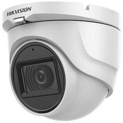 DS-2CE76D0T-ITMFS - (3.6mm) 2Mpix, 4v1 dome ball kamera, 3,6mm, DWDR, EXIR 30m, mikrof.