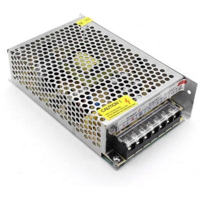 RX-120-12 zálohovaný spínaný zdroj 12V_10A, 120 W, ochrany, LED