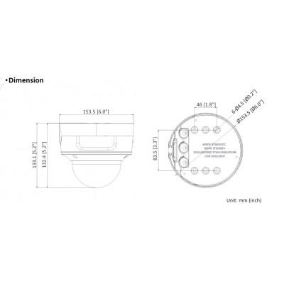 9155401CB-E, 2N® LTE Verso Hlavní jednotka s kamerou – černá