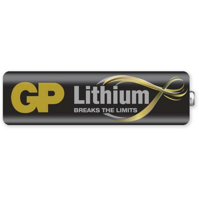 Baterie AA, GP lithium tužková