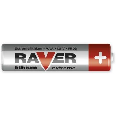 Baterie AAA, Raver lithium mikrotužková